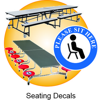Seating Decals